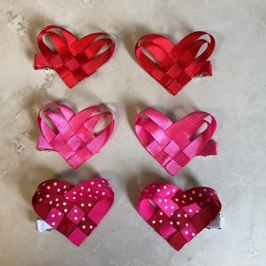 Other - Set of 6 Heart Clips